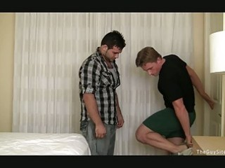 mature homo hunk has wild sex with his younger