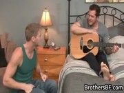 brothers excited boyfriend receives rod gay boys